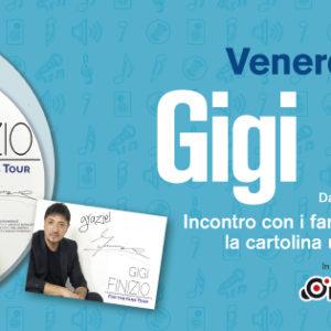 Gigi Finizio al Centro Commerciale LeBolle