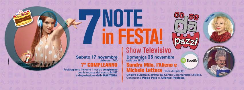 7 NOTE IN FESTA